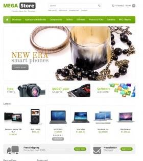 elektroninės parduotuvės nuoma