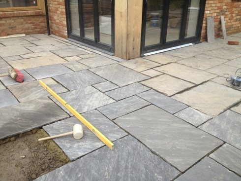 how to make paving slabs look new